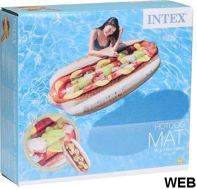 Materassino Hotdog 180x89 Intex KP2050 INTEX