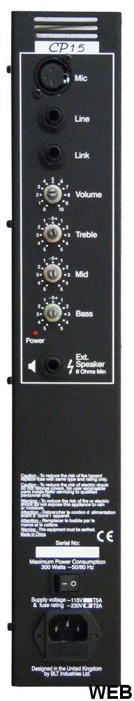 Modulo amplificatore 200W max CP15 W409