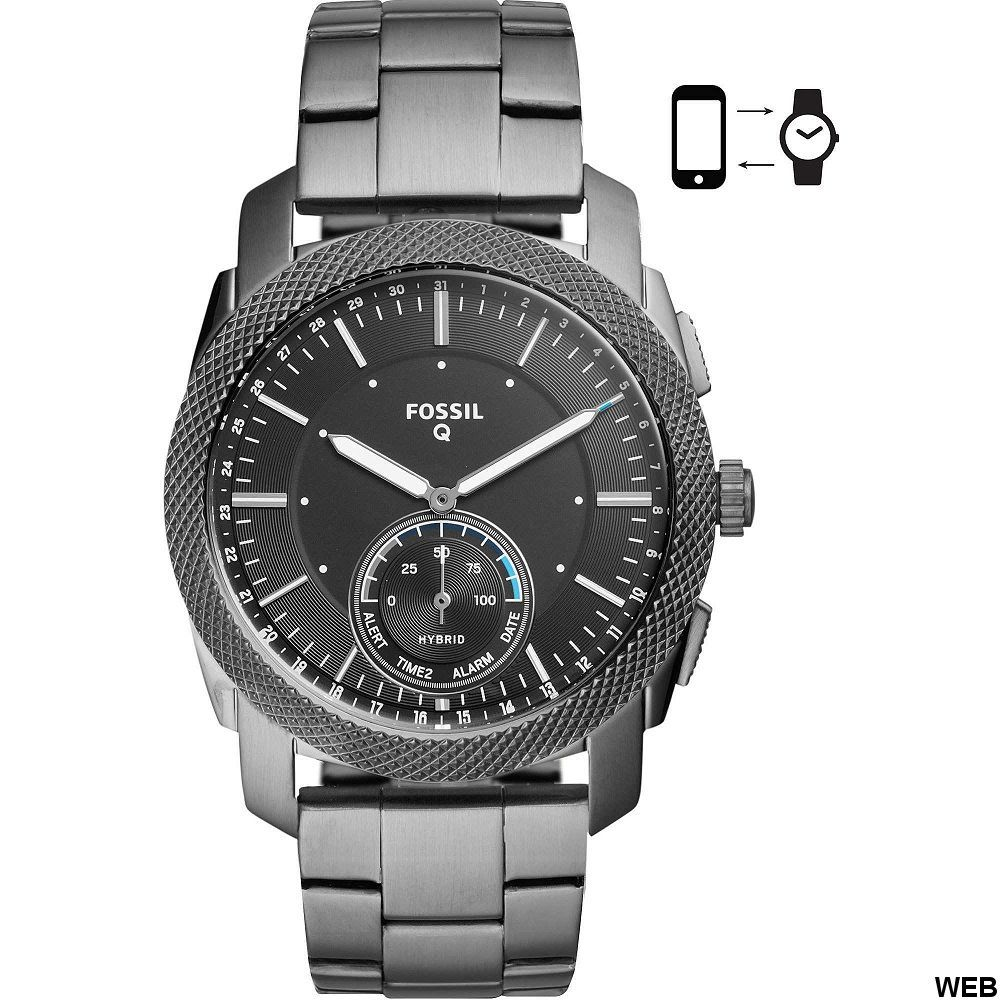 Orologio Smartwatch Ibrido Uomo Fossil Machine FTW1166 ED5069 FOSSIL