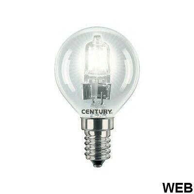 Lampadina Alogena E14 18W luce calda 2800K 205 lumen Century M456 Century
