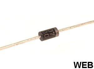 Diodo raddrizzatore 1N4007 E1020
