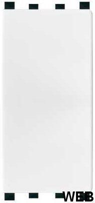 Button 10A 250V White compatible Vimar EL2028