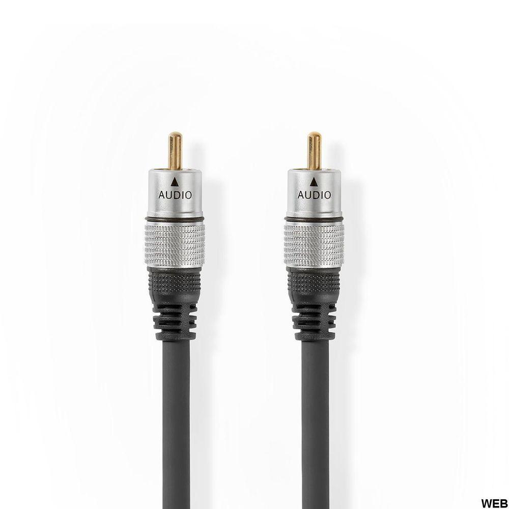 Cavo Audio Digitale Maschio RCA - Maschio RCA 2,50 m Antracite ND1714 Brand:E[Nedis]