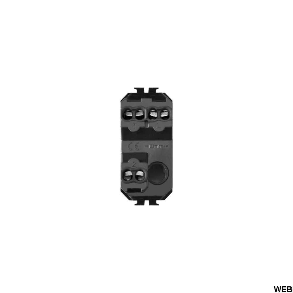 Deviatore Bianco Bipolare 16A 250V Compatibile Matix EL2045