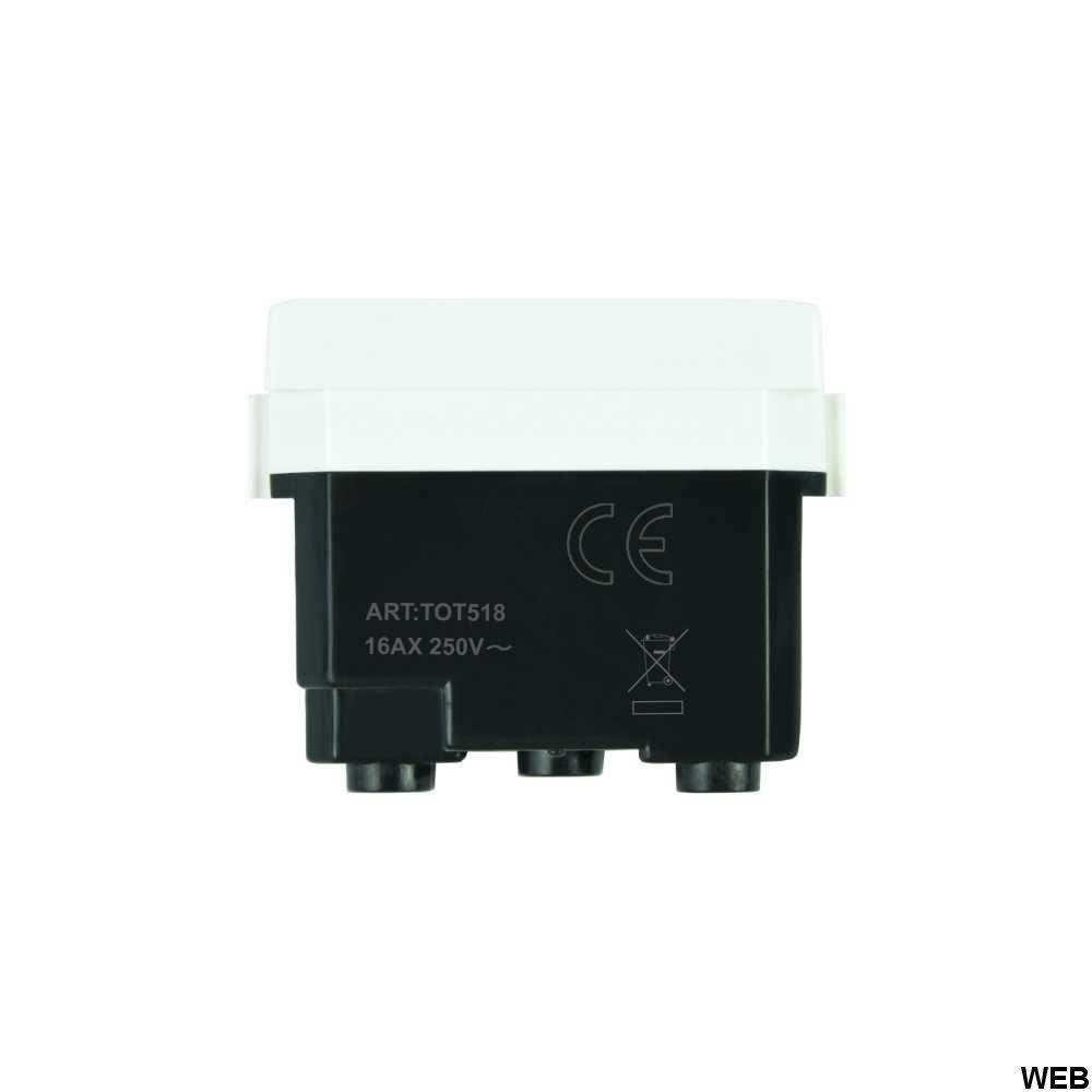 Presa Bivalente Bianca 10A 250V Compatibile Matix EL2052