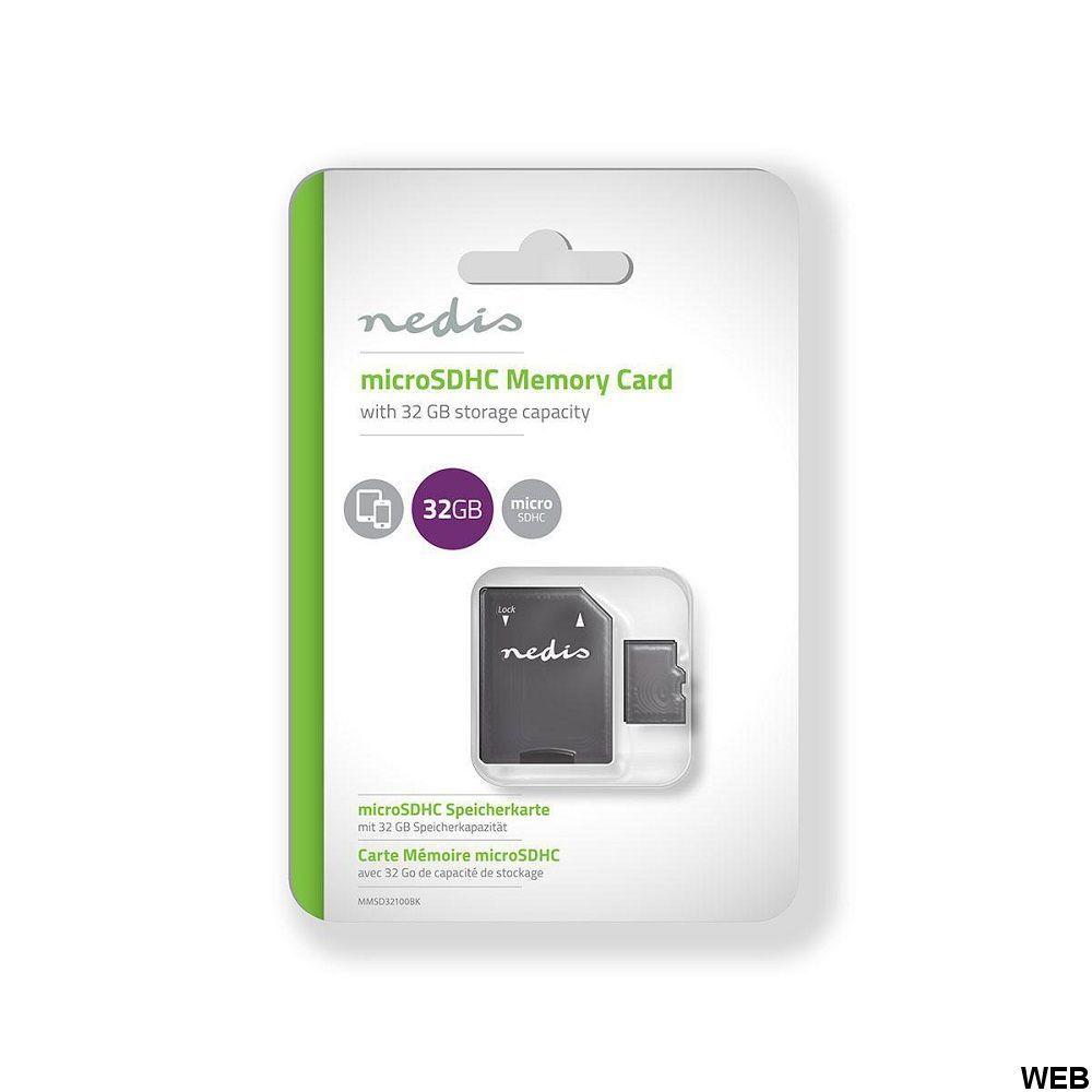 Scheda memoria microSDHC 32GB Scrittura fino a 90 Mbps Classe 10 ND5720