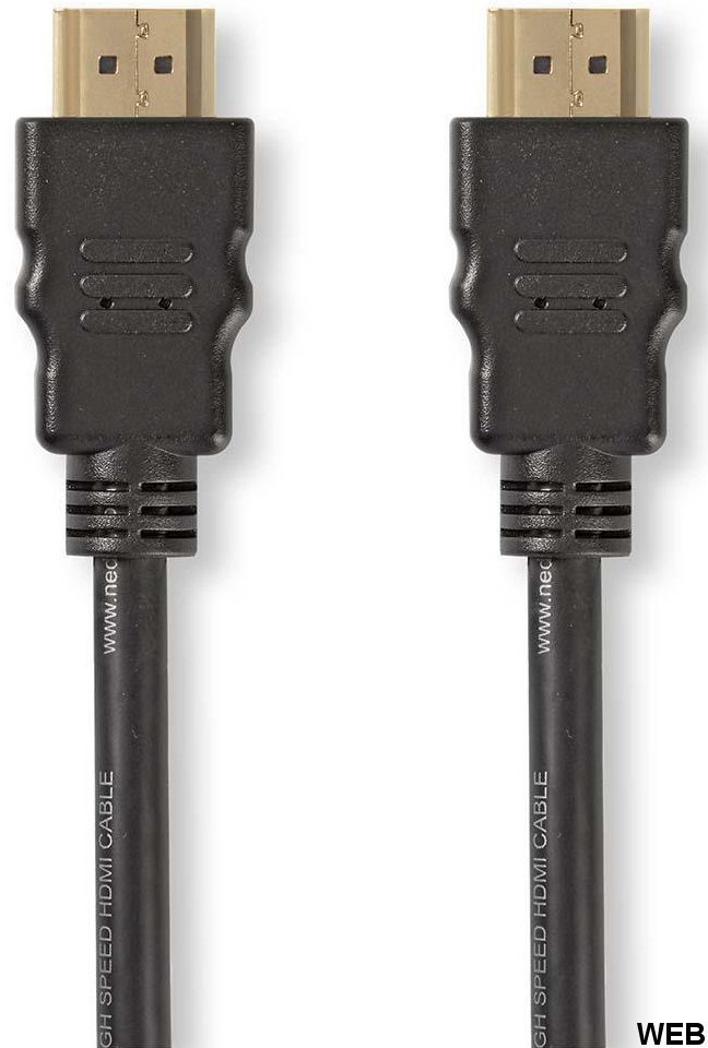 High Speed HDMI Cable with Ethernet 1.0m - HDMI Connector ND120