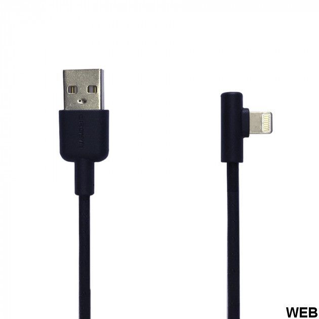 CrownMicro 1m angled Lightning USB charging and sync cable CMCU-008L