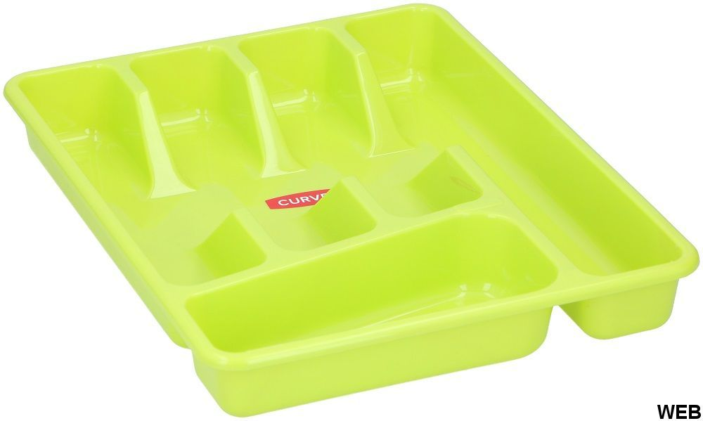 Green kitchen cutlery container ED566