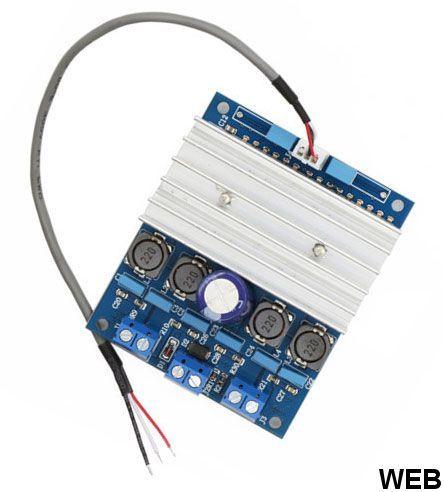 50W + 50W - 10-26V DC amplifier - LCDN222 PCB BOARD 10850
