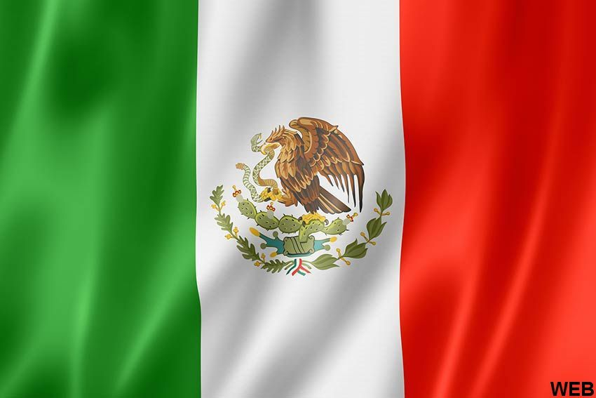 State and Military Flag Mexico 200x300 H1020