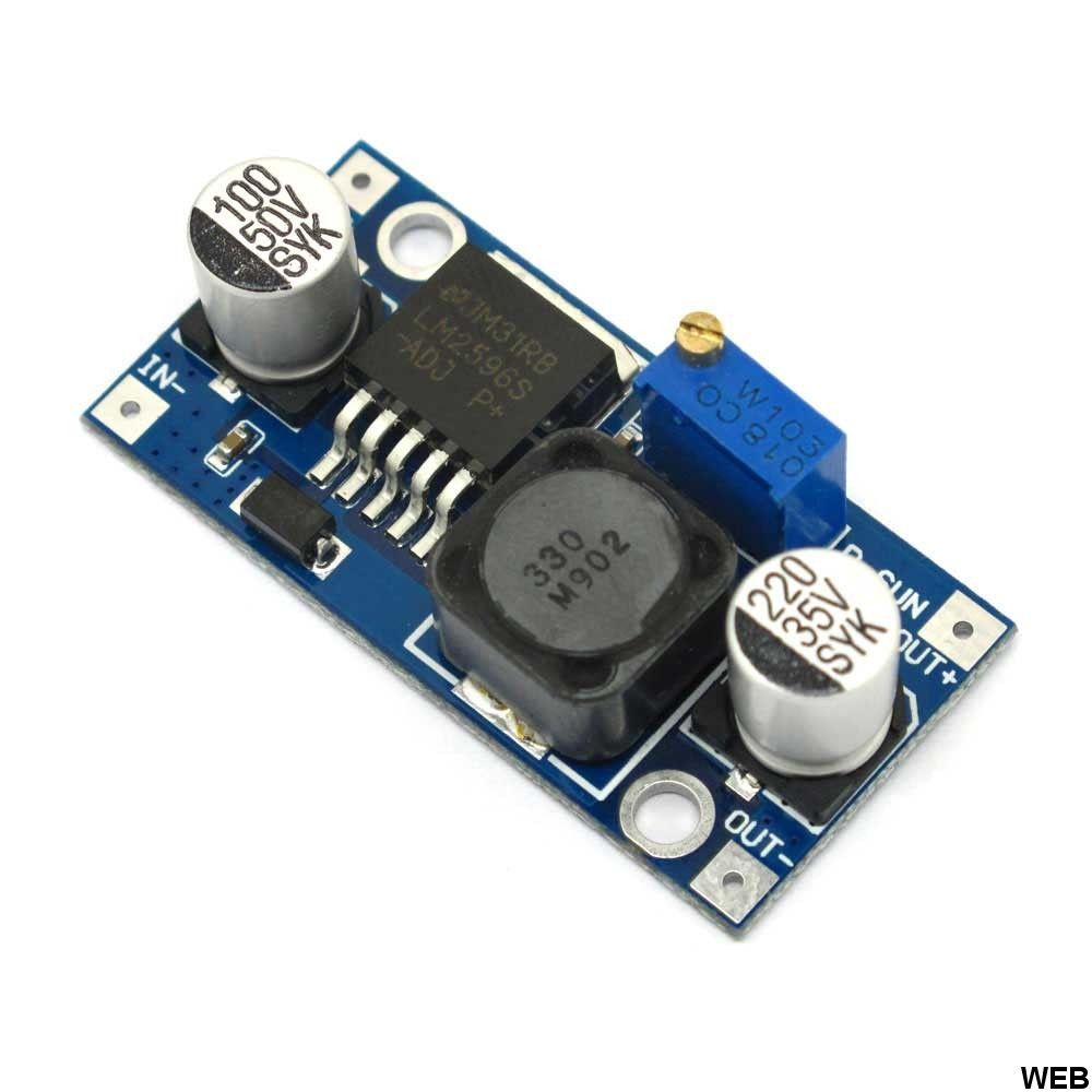 DC / DC converter from 3-40V to 1.5-35V 10422