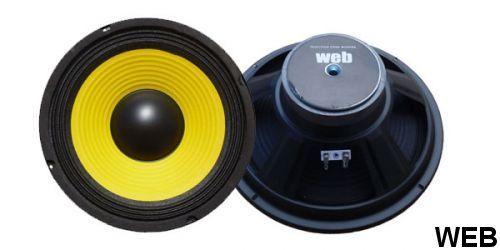 Woofer 260 mm 4 Ohm 150W W-104 W-104