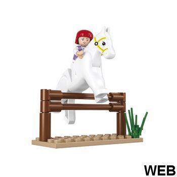 Construction Girls Dream Series Jump Horse ND1790 Sluban