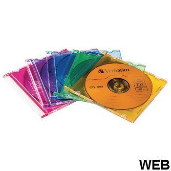 CD 700 MB 5 Pcs CDRVER00047B Verbatim