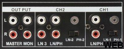 STM-2300 2 CH / MP3 mixer L028