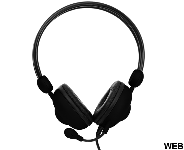 Headset with microphone - various colors CMH-942