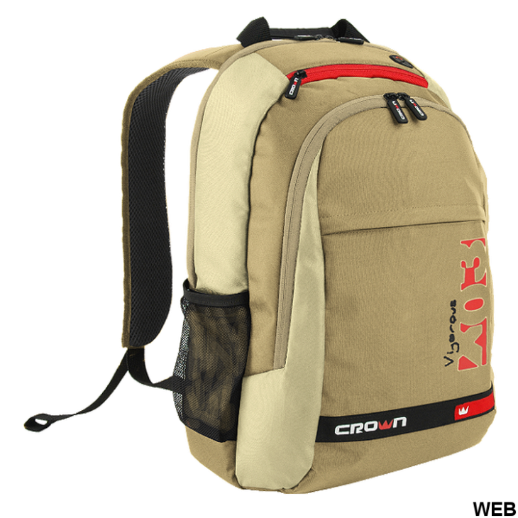 """Backpack for notebook 15.6 """"- various colors - 48x41.5x35cm CMBPV-315 Crown Micro"""