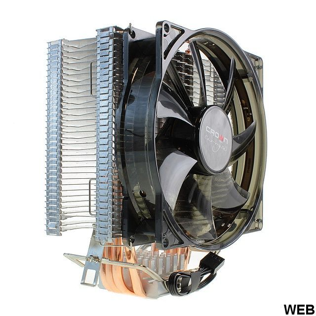 Heatsink with fan for CPU - CM-4 CM-4 Crown Micro