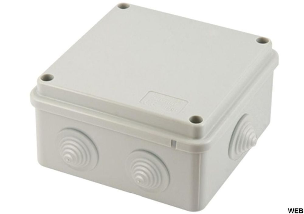 External junction box with cable holes - 100X100X70mm EL294 FATO