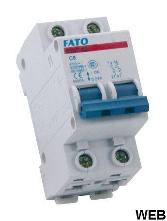 2P - C25 magnetothermal switch EL306 FATO