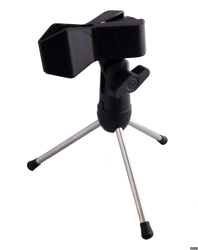 Table stand for microphone - 15 cm SP979