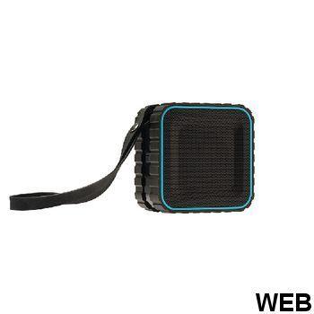 Bluetooth 2.0 Explorer 3 W speaker Built-in microphone Black / Blue AVSP5000-07 Sweex