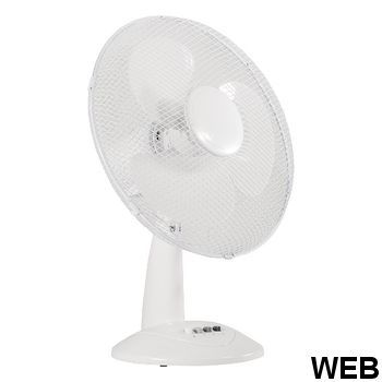 White Plastic Table Fan 40 cm 46.8 W VL-FN16 Valueline