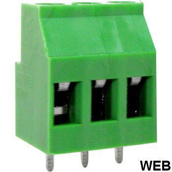 PCB terminal block Pitch 5.08 mm horizontal / i 3P RND 205-00288 RND Connect
