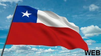 Chile National Flag 200x300cm FLAG065