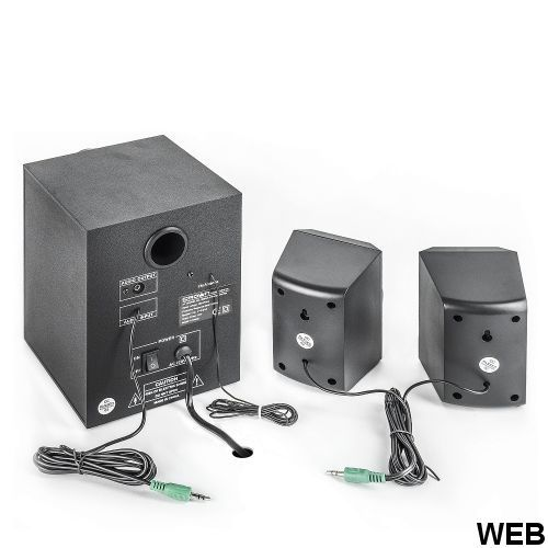 2.1 16W system with FM / USB / Bluetooth and remote control CMBS-160 Crown Micro