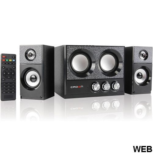 2.1 16W system with FM / USB / SD / Bluetooth and remote control CMBS-161 Crown Micro