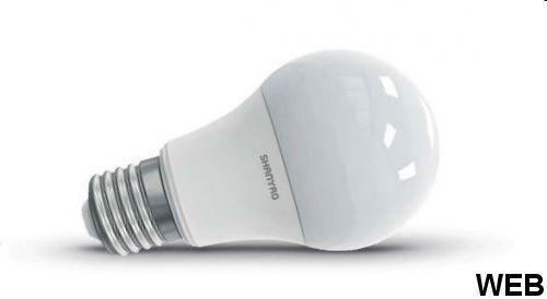 LED Bulb Lamp A60 10W with E27 socket - cold light 5749 Shanyao