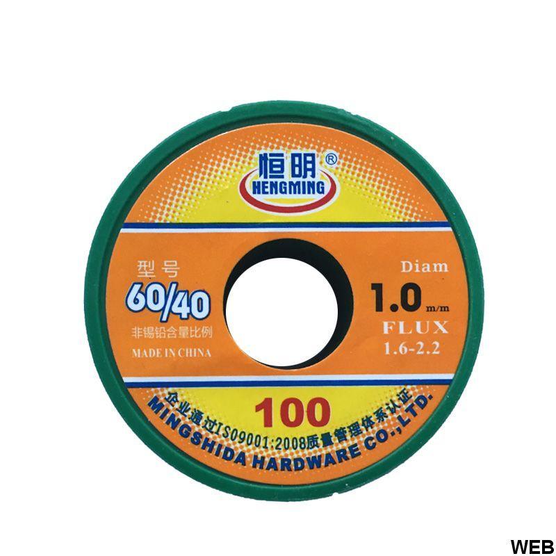Reel tin 60/40 1.0mm 100gr Q505