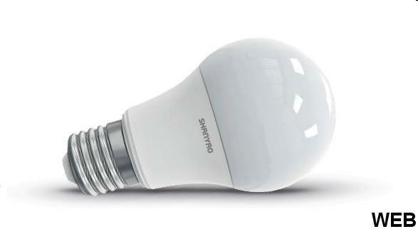 LED Bulb Lamp A60 10W E27 base - natural light 5748 Shanyao