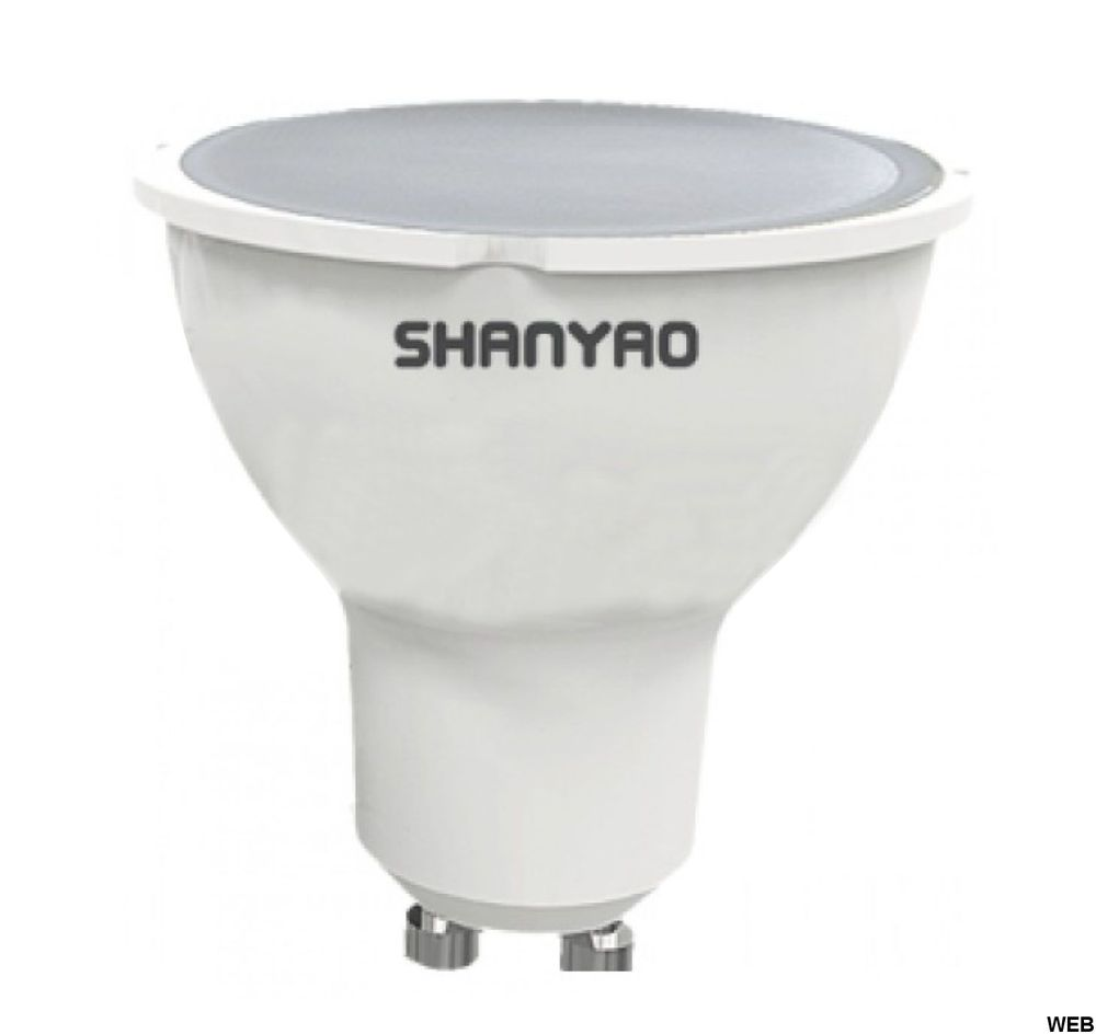 GU10 5W 120Â ° LED lamp - cold light 5276 Shanyao