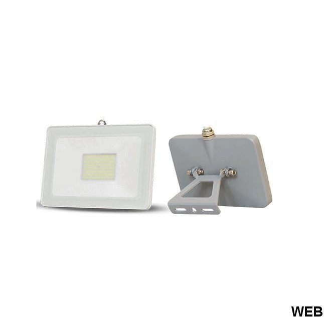 20W slim LED spotlight - warm light - white 5395 Shanyao