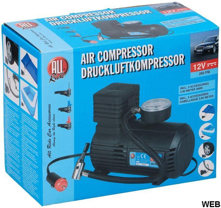 12V / 250Psi All Ride car compressor ED594 All Ride