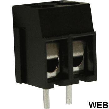PCB terminal block Pitch 5 mm horizontal / i 2P RND 205-00001 RND Connect